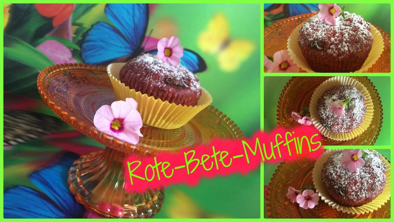 Muffins / Rote-Bete-Muffins