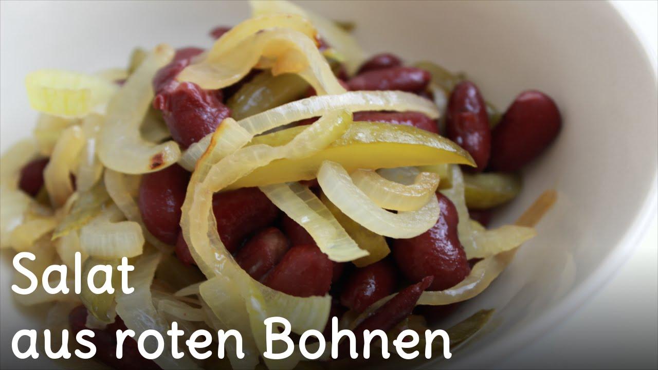 REZEPT - Salat mit Kidneybohnen