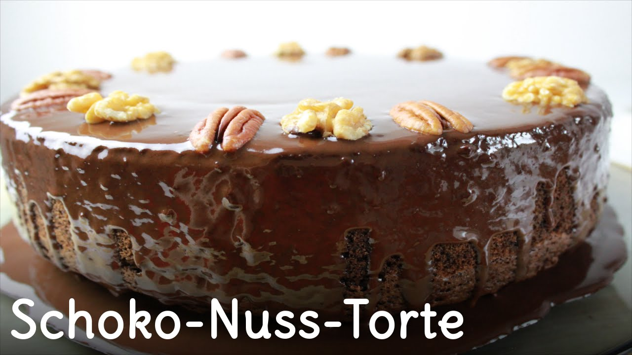 REZEPT | Schoko-Nuss-Torte