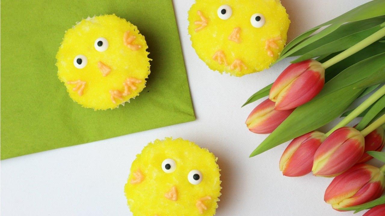 OSTERN | Küken-Cupcakes | SWEETLIFESUNSHINE