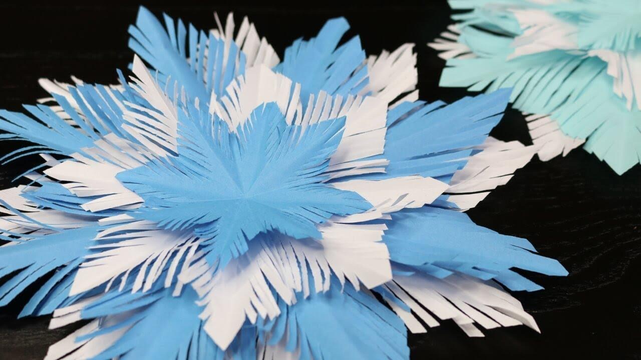 DIY | Schneeflocke aus Papier basteln | Basteln mit Kindern | SweetLifeSunShine