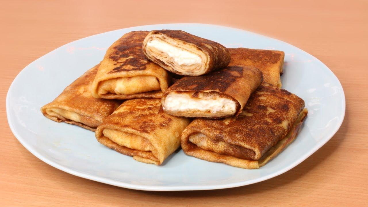 Gefüllte Crêpes | Pfannkuchen | Palatschinken | Sweetlifesunshine