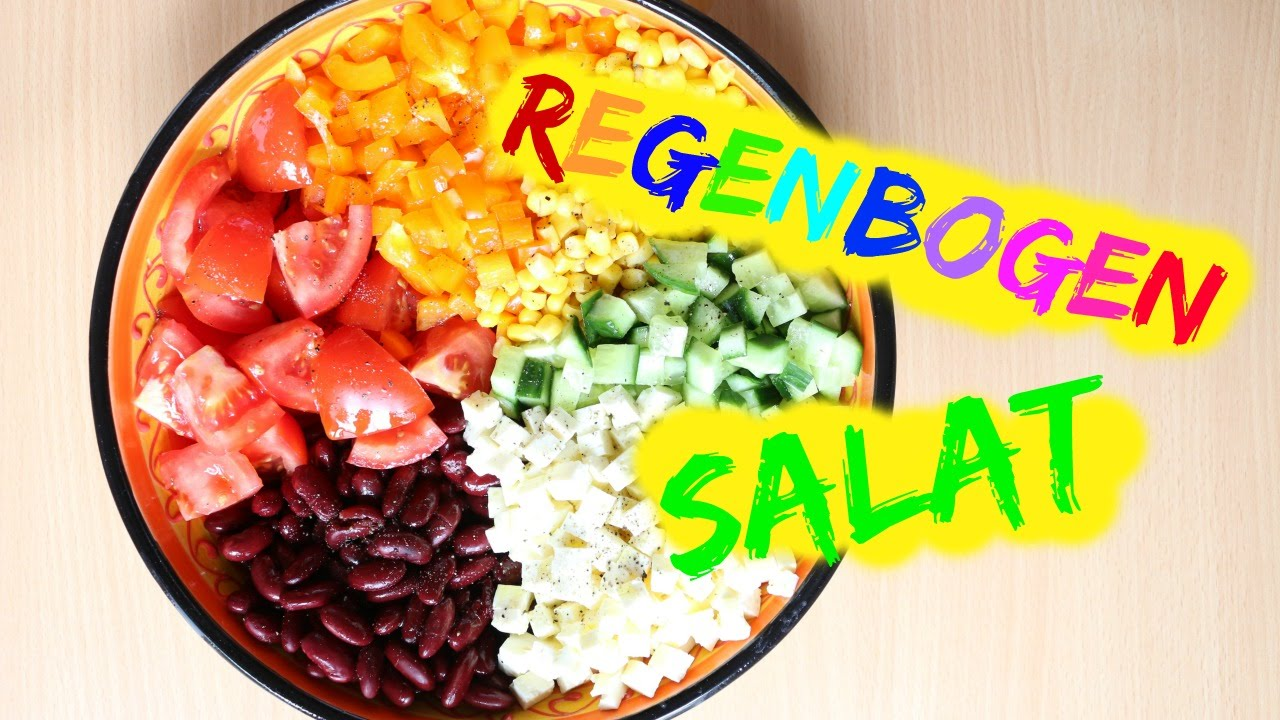 REZEPT | Regenbogen Salat | SWEETLIFESUNSHINE
