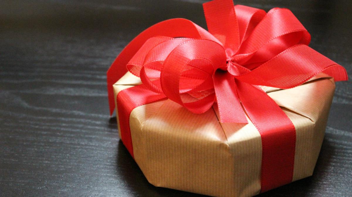 Geschenke Verpacken Schachtel Im Achteck Originell Verpackt